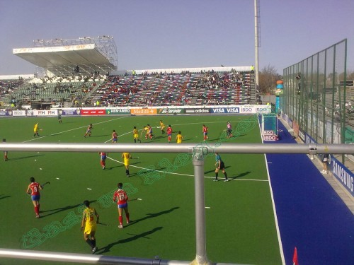 China y Corea hockey