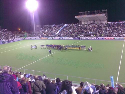 Argentina y Sudáfrica hockey